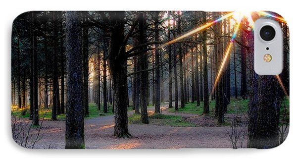 Sun Rays Phone Case by Sonya Kanelstrand