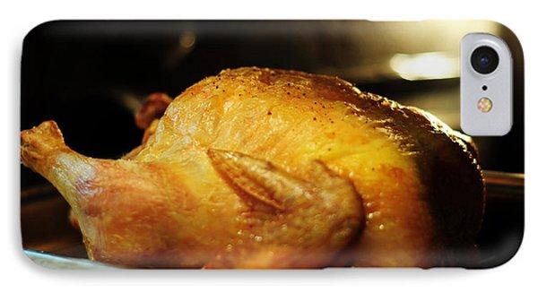 Sunday Chicken Phone Case by Rebecca Sherman