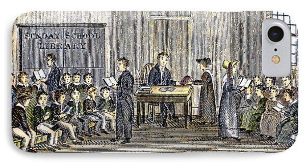 Sunday School, 1832 Phone Case by Granger