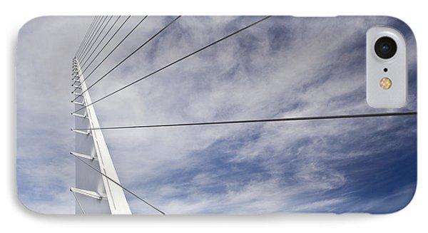 Sundial Bridge At Turtle Bay IPhone Case by Bryan Mullennix