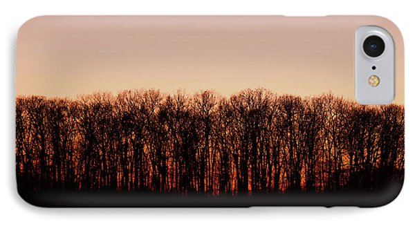IPhone Case featuring the photograph Sundown In Silhouette by Rachel Cohen