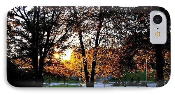 Sundown In Stanley Park Phone Case by Will Borden