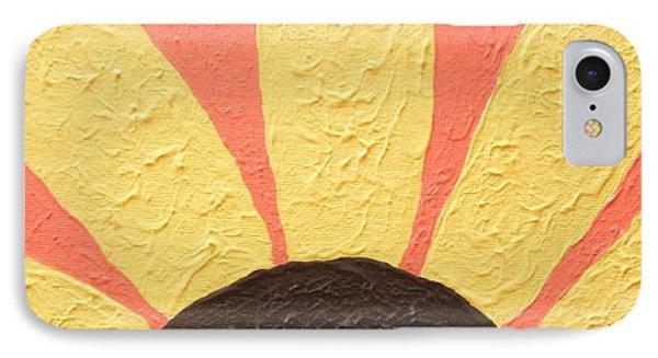 Sunflower Burst Phone Case by Jeannie Atwater Jordan Allen
