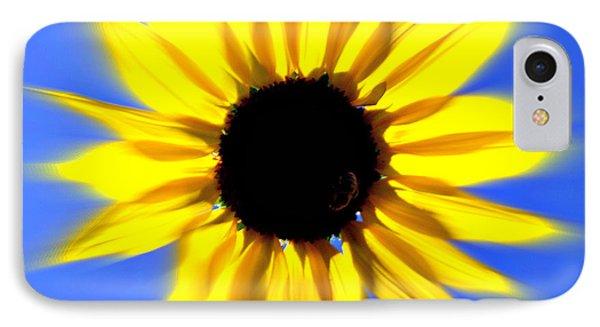 Sunflower Burst Phone Case by Marty Koch
