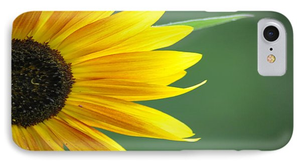 Sunflower Morning Phone Case by Bill Cannon
