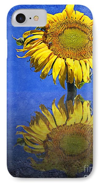 Sunflower Reflection Phone Case by Andee Design