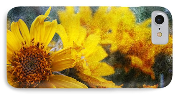 Sunflowers IPhone Case by Alyce Taylor