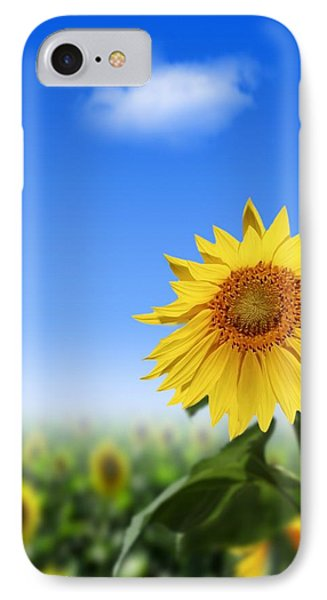 Sunflowers, Artwork Phone Case by Victor Habbick Visions
