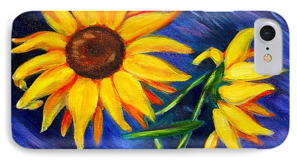 Sunflowers IPhone Case by Diana Haronis