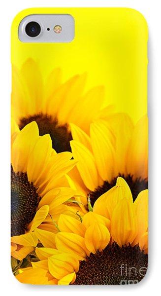 Sunflowers Phone Case by Elena Elisseeva