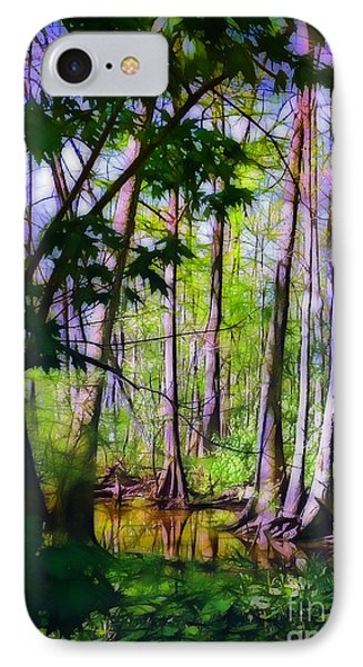 Sunlight In The Swamp Phone Case by Judi Bagwell
