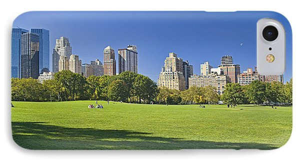 Sunny Central Park IPhone Case