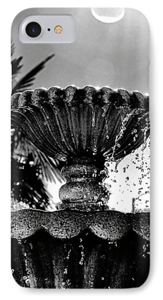 Sunny Fountain IPhone Case by Bob Wall