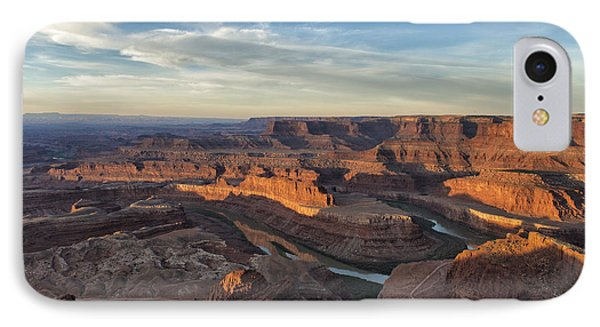 Sunrise At Dead Horse Point State Park IPhone Case by Sandra Bronstein