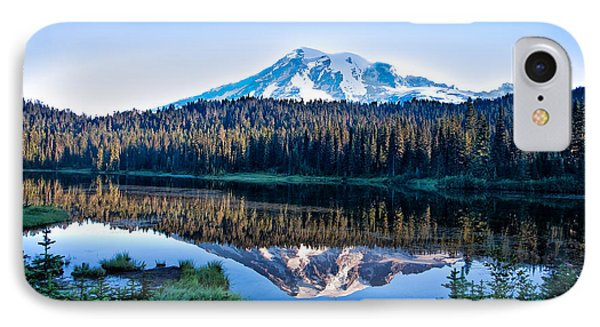 Sunrise At Reflection Lake IPhone Case by Ronald Lutz