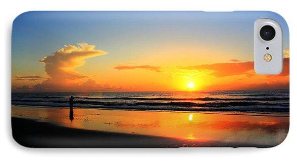 Sunrise Couple IPhone Case by Dan Stone