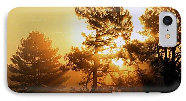 Sunrise IPhone Case by Karen Harrison