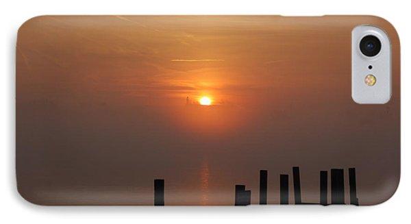 Sunrise On The River IPhone Case by Randy J Heath