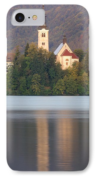 Sunrise Over Lake Bled And The Island Church IPhone Case