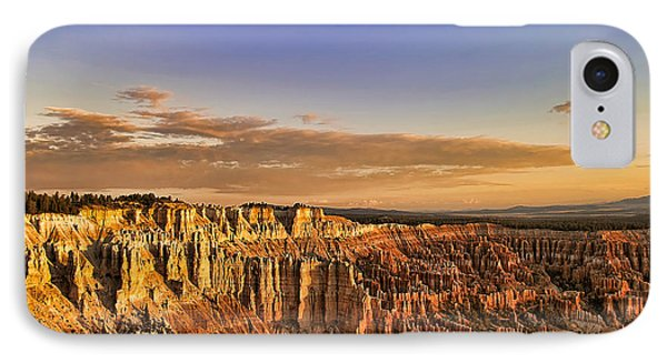 Sunrise Over The Hoodoos Phone Case by Anne Rodkin