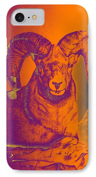 Sunrise Ram Phone Case by Mayhem Mediums