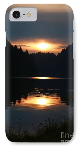 Sunrise Reflection IPhone Case by Tyra  OBryant