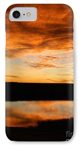Sunrise Reflections Phone Case by Sara  Mayer