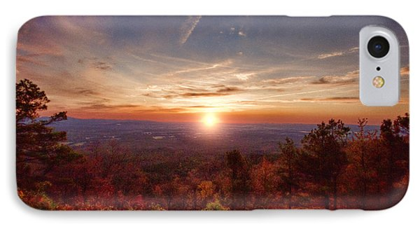 Sunrise-talimena Scenic Drive Arkansas Phone Case by Douglas Barnard