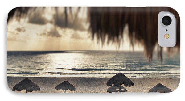 Sunrise Viewed From The Beach Phone Case by Bryan Mullennix