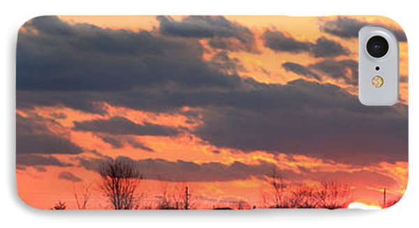 IPhone Case featuring the photograph Sunset After The Storm by Ann Murphy