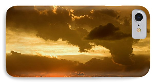 Sunset After The Storm Phone Case by Ellen Heaverlo
