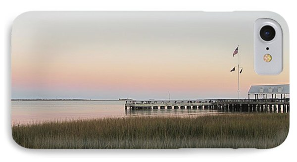 Sunset At Charleston Bay 2 Phone Case by Cathy Lindsey