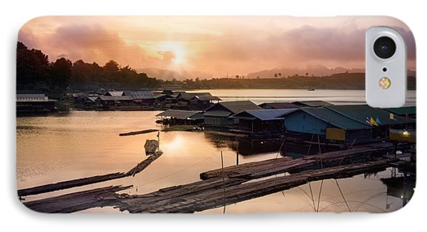 Sunset At Fisherman Villages  IPhone Case