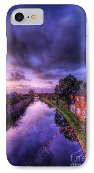 Sunset At Loughborough Phone Case by Yhun Suarez