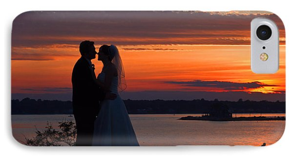 Sunset At Night A Wedding Delight IPhone Case