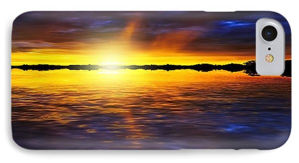 Sunset By The River Phone Case by Svetlana Sewell