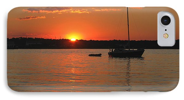 IPhone Case featuring the photograph Sunset Cove by Clara Sue Beym