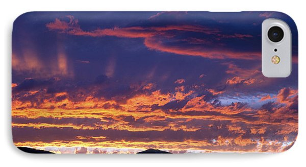 Sunset Phone Case by David R Frazier and Photo Researchers