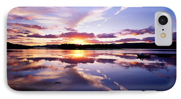 Sunset, Dinish Island Kenmare Bay Phone Case by The Irish Image Collection