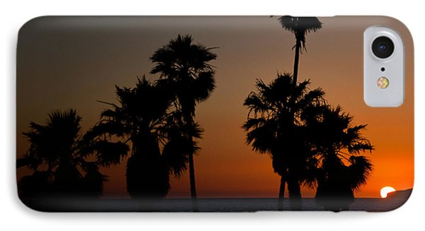 sunset in Califiornia Phone Case by Ralf Kaiser