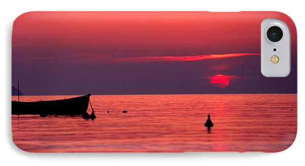 IPhone Case featuring the photograph Sunset In Elba Island by Luciano Mortula
