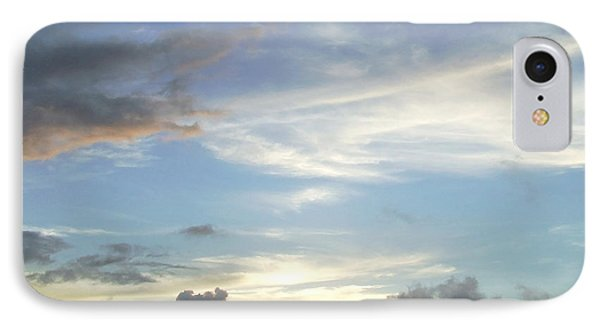 Sunset In Majuro IPhone Case by Andrea Anderegg