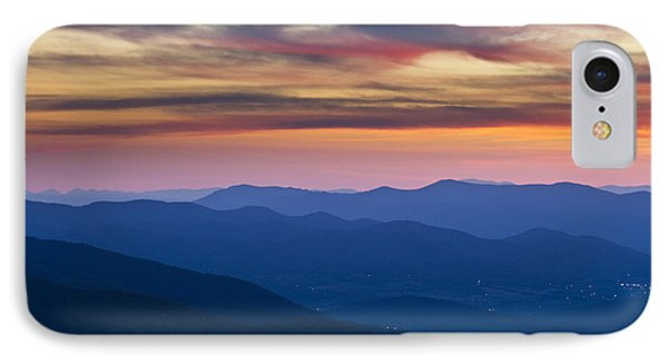 Sunset In Shenandoah National Park Phone Case by Pierre Leclerc Photography