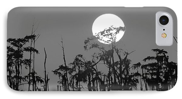 IPhone Case featuring the photograph Sunset In Swamp by Luana K Perez