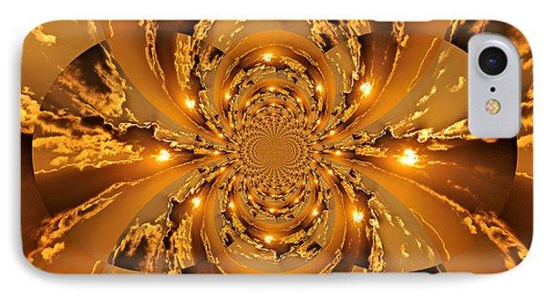 Sunset Kaleidoscope 4 Phone Case by Marty Koch