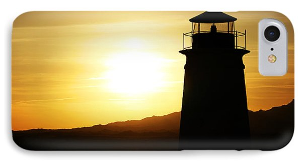 Sunset Lighthouse IPhone Case