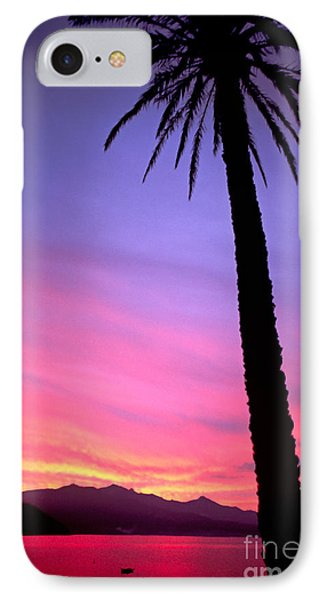 IPhone Case featuring the photograph Sunset by Luciano Mortula