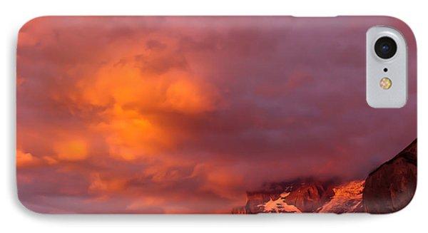 Sunset Murren Switzerland IPhone Case