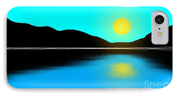 Sunset No. 2 Phone Case by George Pedro