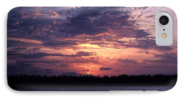 IPhone Case featuring the photograph Sunset Off Mallory Square 14s by Gerry Gantt
